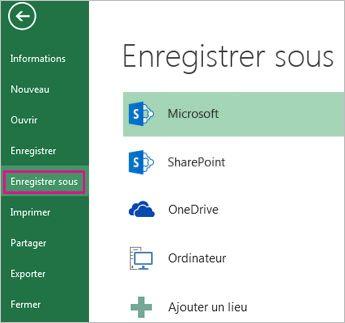 Excel 2013 OneDrive